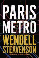 Cover image for Paris metro