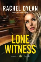 Cover image for Lone witness