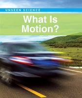 Cover image for What is motion?