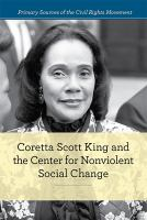 Cover image for Coretta Scott King and the Center for Nonviolent Social Change