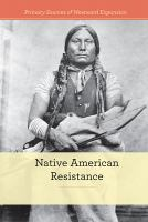 Cover image for Native American resistance