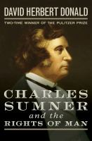 Cover image for Charles Sumner and the rights of man