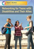 Cover image for Networking for teens with disabilities and their allies