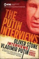 Cover image for The full transcripts of the Putin interviews : with substantial material not included in the documentary