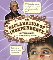 Cover image for The Declaration of Independence in translation : what it really means