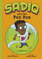 Cover image for Sadiq and the fun run
