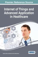 Cover image for Internet of things and advanced application in healthcare