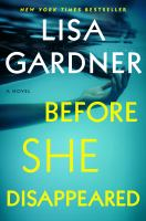 Cover image for Before she disappeared