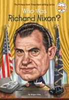 Cover image for Who was Richard Nixon?