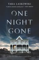 Cover image for One night gone : a novel