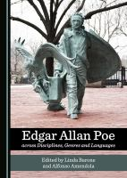 Cover image for Edgar Allan Poe across disciplines, genres and languages