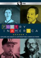 Cover image for Poetry in America Season 1 : explore and debate 12 unforgettable American poems