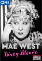 Cover image for Mae West, dirty blonde
