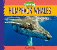 Cover image for Humpback whales