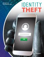 Cover image for Identity theft