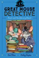 Cover image for Basil and the library ghost
