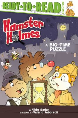Cover image for Hamster Holmes, a big-time puzzle
