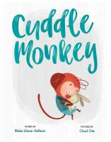 Cover image for Cuddle monkey