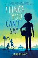 Cover image for Things you can't say