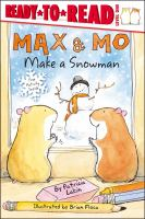 Cover image for Max & Mo make a snowman