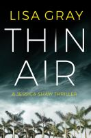 Cover image for Thin air