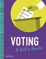 Cover image for Voting : a kid's guide