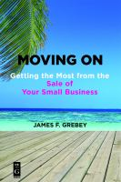 Cover image for Moving on getting the most from the sale of your small business