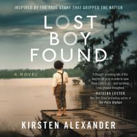Cover image for Lost boy found