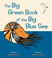 Cover image for The big green book of the big blue sea
