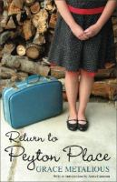Cover image for Return to Peyton Place