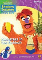 Cover image for Shalom sesame Monsters in the sukkah.