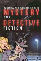 Imagen de portada para Reference and research guide to mystery and detective fiction