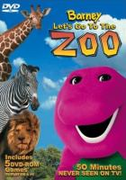 Cover image for Barney let's go to the zoo