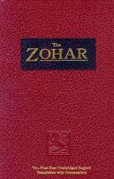 Cover image for The Zohar