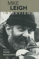 Cover image for Mike Leigh : interviews