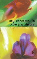 Cover image for Key concepts in literary theory