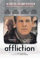 Cover image for Affliction