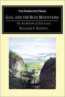 Cover image for Goa, and the blue mountains, or, Six months of sick leave