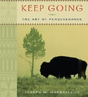 Cover image for Keep going the art of perseverance