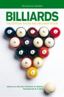 Cover image for Billiards : the official rules & records book
