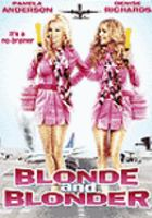 Cover image for Blonde and blonder