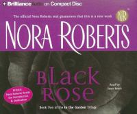Cover image for Black rose