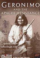 Cover image for Geronimo and the Apache resistance