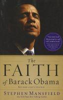 Cover image for The faith of Barack Obama