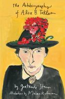 Cover image for The autobiography of Alice B. Toklas