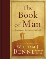 Cover image for The book of man : readings on the path to manhood