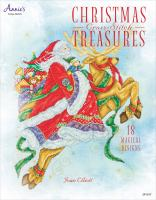 Cover image for Christrmas cross-stitch treasures