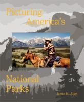 Cover image for Picturing America's national parks