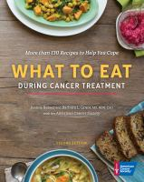 Cover image for What to eat during cancer treatment