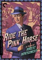 Cover image for Ride the pink horse